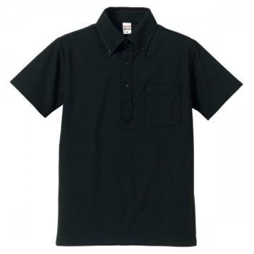 ドライカノコユーティリティポロシャツ002.ブラック