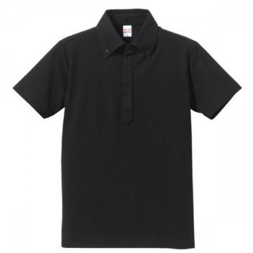 ドライカノコユーティリティーポロシャツ002.ブラック