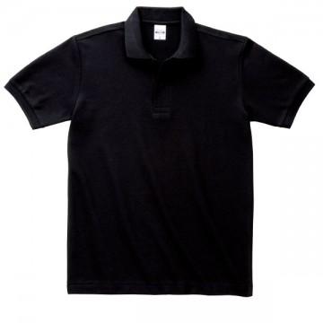 T/Cポロシャツ(ポケット無)005.ブラック