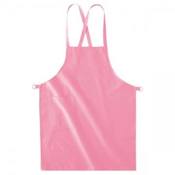 ベーシックエプロン011.ピンク