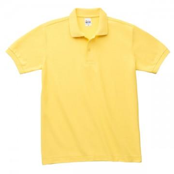 T/Cポロシャツ(ポケット無)020.イエロー