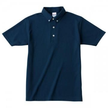 ボタンダウンポロシャツ031.ネイビー