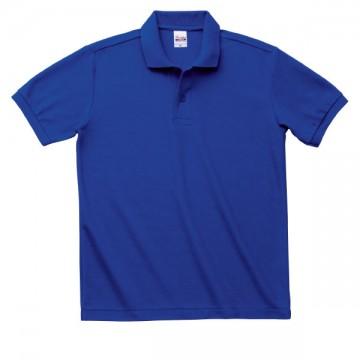 T/Cポロシャツ(ポケット無)032.ロイヤルブルー