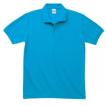 T/Cポロシャツ(ポケット無)034.ターコイズ