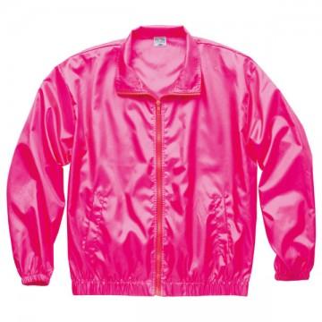 ベーシックカラーブルゾン049.蛍光ピンク