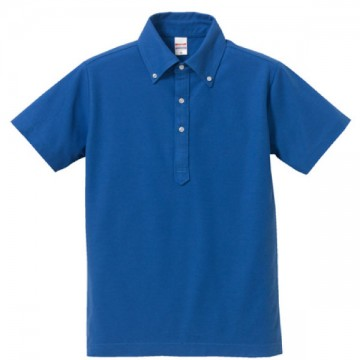 ドライカノコユーティリティーポロシャツ085.ロイヤルブルー