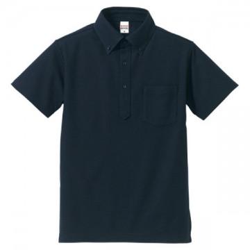 ドライカノコユーティリティポロシャツ086.ネイビー