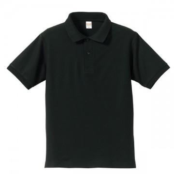 ドライカノコポロシャツ002.ブラック
