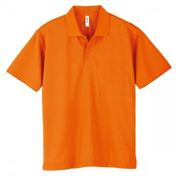 ドライポロシャツ015.オレンジ