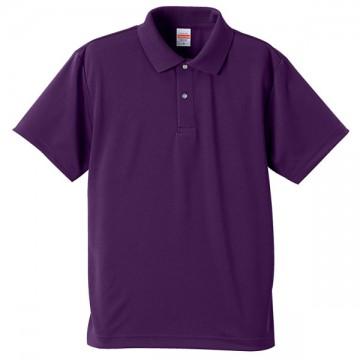 ドライアスレチックポロシャツ062.パープル