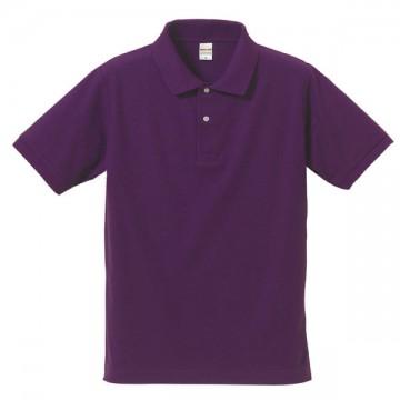 ドライカノコポロシャツ062.パープル