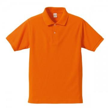 ドライカノコポロシャツ064.オレンジ