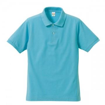 ドライカノコポロシャツ083.アクアブルー