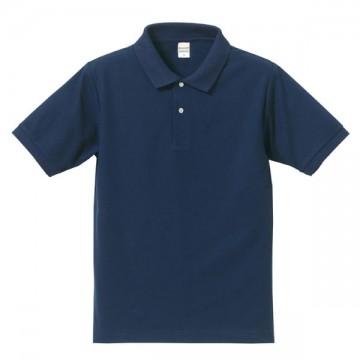 ドライカノコポロシャツ087.インディゴ