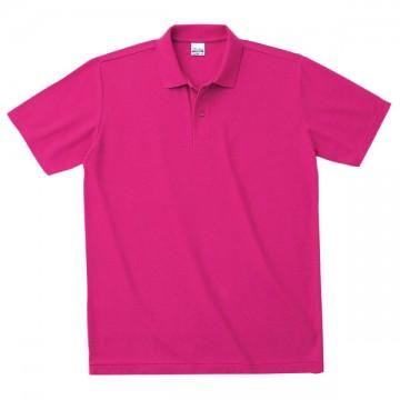 カジュアルポロシャツ【在庫限り】146.ホットピンク