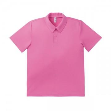ドライポロシャツ 19.ピンク