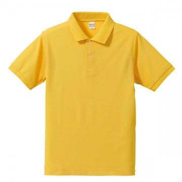 ドライカノコポロシャツ190.カナリアイエロー
