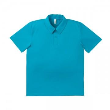 ドライポロシャツ 26.ターコイズ