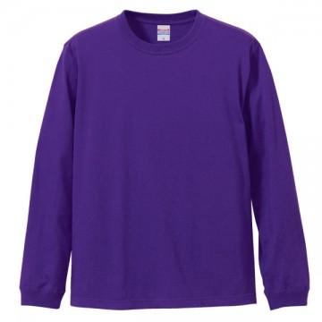 ロングスリーブTシャツ(袖口リブ仕様)539.バイオレットパープル