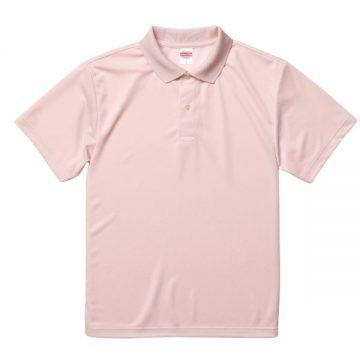 ドライアスレチックポロシャツ576.ベビーピンク
