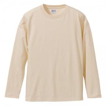 ロングスリーブTシャツ019.ナチュラル