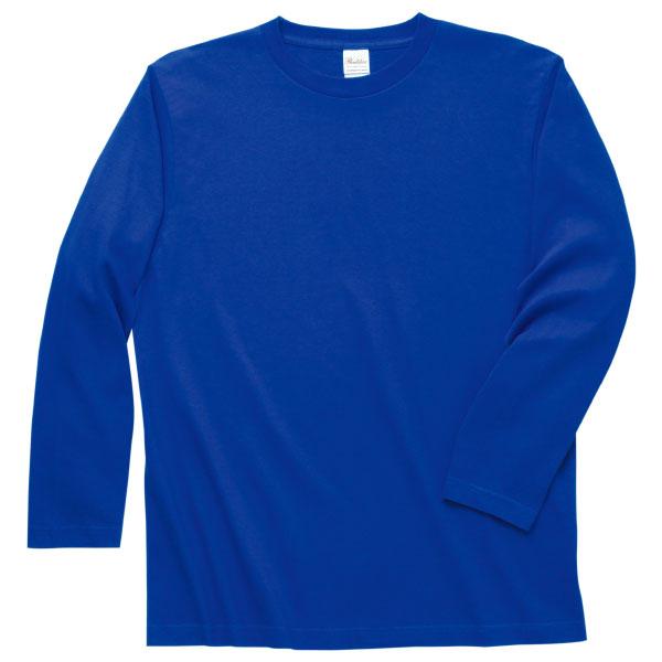 ロングスリーブTシャツ101ロイヤルブルー