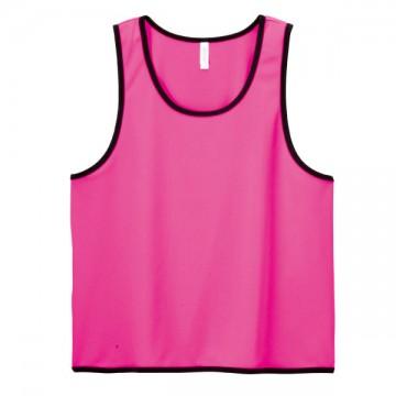 ドライメッシュビブス049.蛍光ピンク