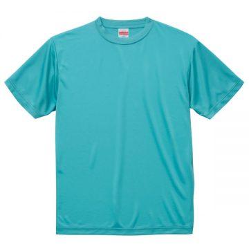ドライシルキータッチTシャツ083.アクアブルー
