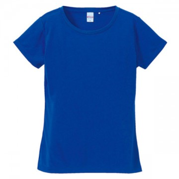 ドライシルキータッチTシャツ084.コバルトブルー