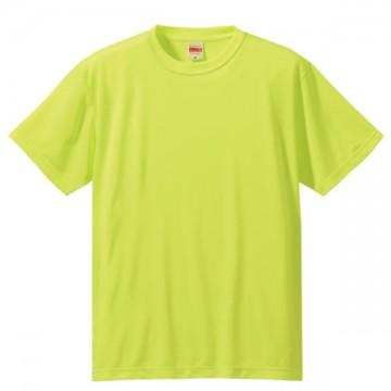 ドライシルキータッチTシャツ111.蛍光イエロー