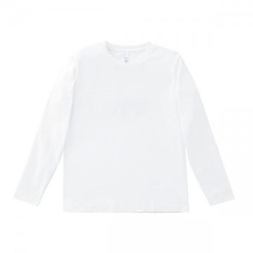 5.3オンス ユーロロングTシャツ15.ホワイト