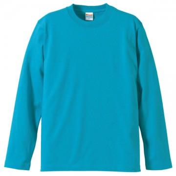 ロングスリーブTシャツ538.ターコイズブルー