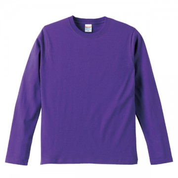 ロングスリーブTシャツ539.バイオレットパープル