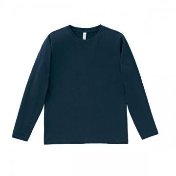 5.3オンス ユーロロングTシャツ8.ネイビー
