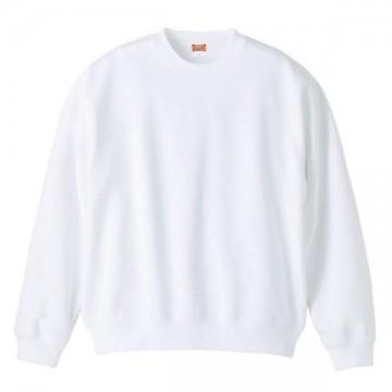 クルーネックスウェット001.ホワイト