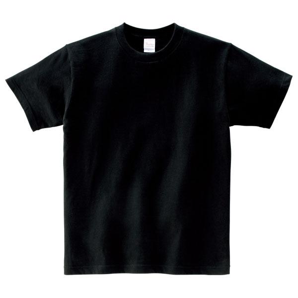 ヘビーウェイトTシャツ085ブラックピンク