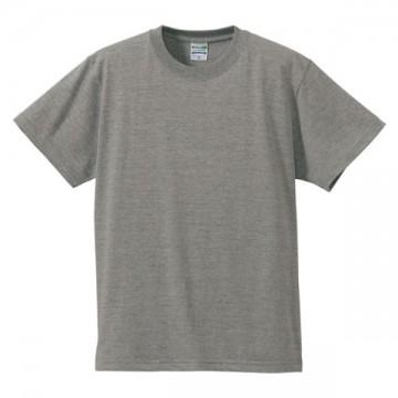 ハイクオリティーTシャツ006.ミックスグレー
