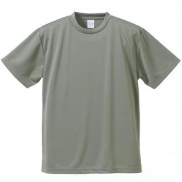 4.1オンスドライアスレチックTシャツ013.グレー