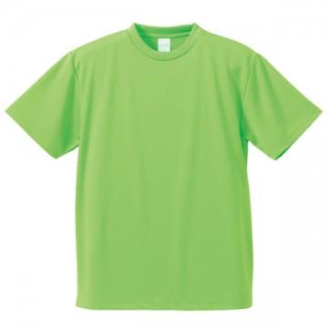 4.1オンスドライアスレチックTシャツ025.ブライトグリーン