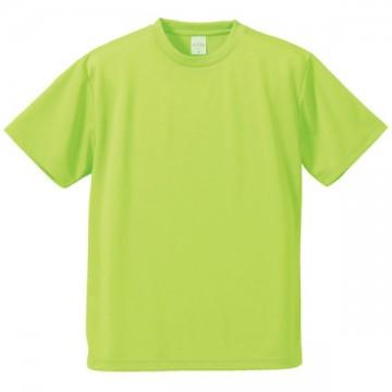 4.1オンスドライアスレチックTシャツ036.ライムグリーン
