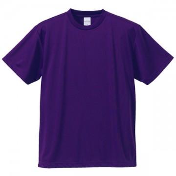4.1オンスドライアスレチックTシャツ062.パープル