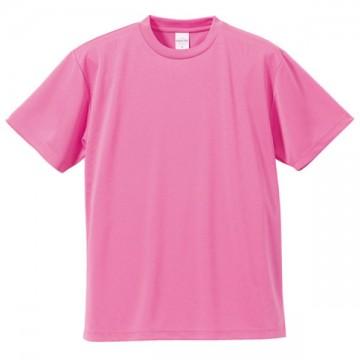 4.1オンスドライアスレチックTシャツ066.ピンク