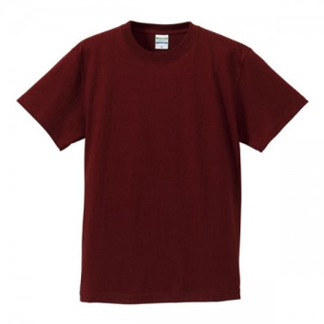 ハイクオリティーTシャツ072.バーガンディ