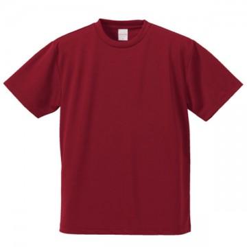 4.1オンスドライアスレチックTシャツ072.バーガンディ