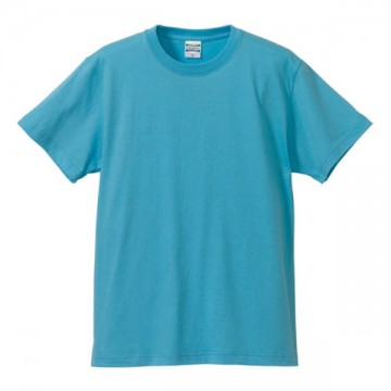 ハイクオリティーTシャツ083.アクアブルー
