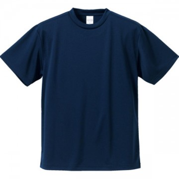 4.1オンスドライアスレチックTシャツ086.ネイビー