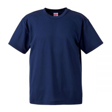4.1オンスドライアスレチックTシャツ087.インディゴ
