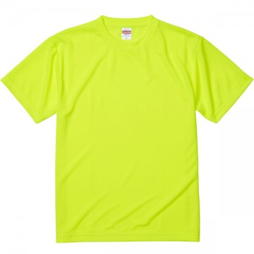 4.1オンスドライアスレチックTシャツ111.蛍光イエロー