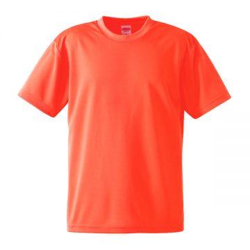 4.1オンスドライアスレチックTシャツ113.蛍光オレンジ