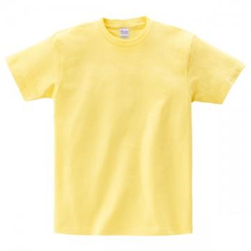 ヘビーウェイトTシャツ134.ライトイエロー